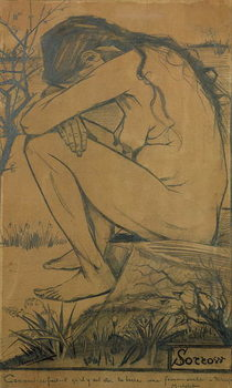 Sorrow, 1882 Reproduction d'art