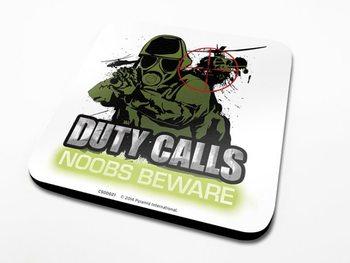Duty Calls  Sottobicchieri