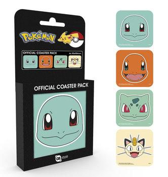 Pokemon - Faces Sottobicchieri