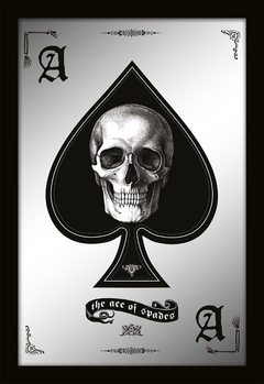 Specchi Stampati  MIRRORS - ace of spades