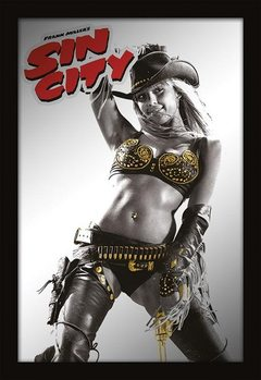 Specchi Stampati  MIRRORS - sin city / cow girl