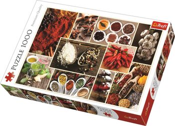 Sestavljanka Spices - Collage