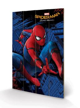 Ξύλινη τέχνη Spider-Man Homecoming - City