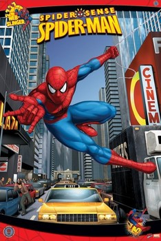 SPIDER-MAN - N.Y.C. плакат