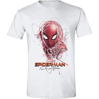 T-Shirt  Spiderman - Sketched Hero