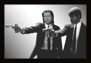 MIRRORS - pulp fiction / guns Spiegels
