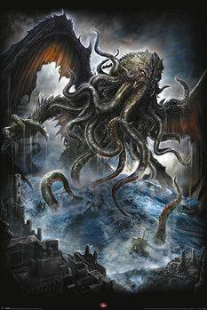 Spiral - Cthulhu - плакат (poster)