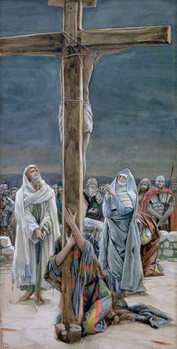 Stabat Mater. Woman Behold Thy Son, illustration for 'The Life of Christ', c.1884-96 Festmény reprodukció