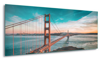Golden Gate Bridge Staklena slika