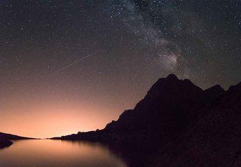 Shooting Stars Staklena slika