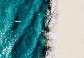 Surf Colours Staklena slika