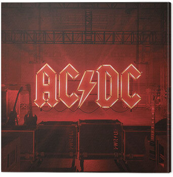 Stampa su Tela AC/DC - PWR/UP