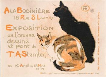 Stampa su Tela At the Bodiniere, 1894