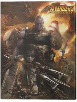 Stampa su Tela Avengers: Infinity War - Children of Thanos