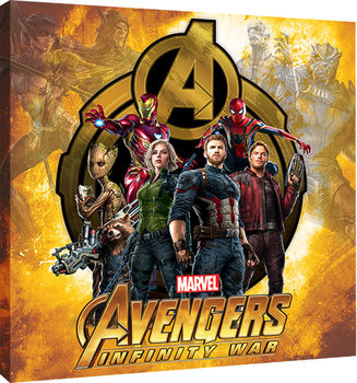 Stampa su Tela Avengers Infinity War - Explosive