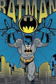 Stampa su Tela Batman - Action Hero