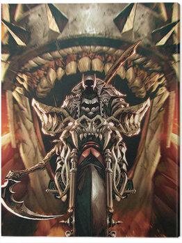 Stampa su Tela Batman - Death Metal Bat Out of Hell