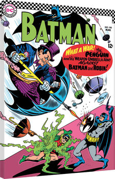 Stampa su Tela Batman - What a War