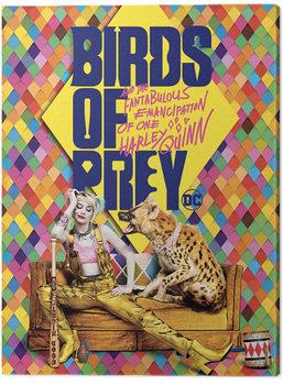 Stampa su Tela Birds Of Prey: e la fantasmagorica rinascita di Harley Quinn - Harley's Hyena