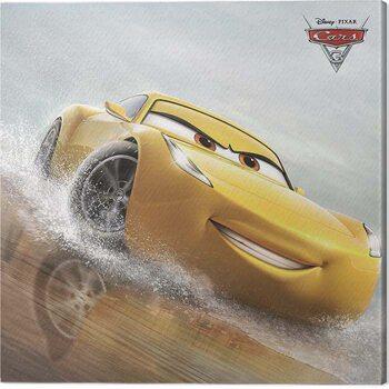 Stampa su Tela Cars 3 - Cruz Ramirez