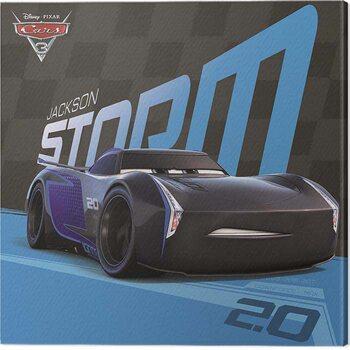 Stampa su Tela Cars 3 - Jackson Storm