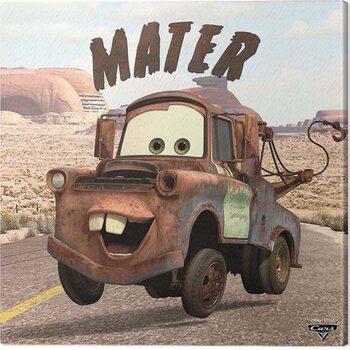 Stampa su Tela Cars - Mater