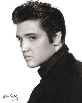 Stampa su Tela Elvis - Portrait