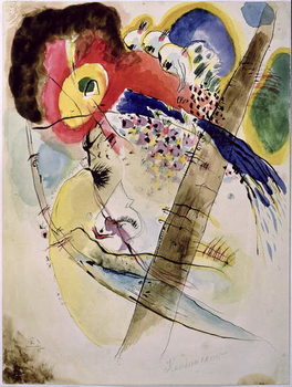 Stampa su Tela Exotic Birds, 1915