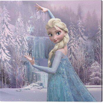 Stampa su Tela Frozen - Elsa Frozen Forest