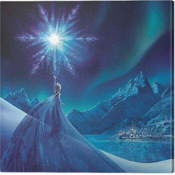 Stampa su Tela Frozen - Elsa Ice Star