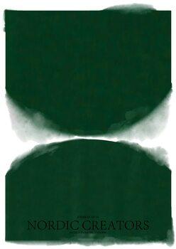 Stampa su Tela Green Abstract