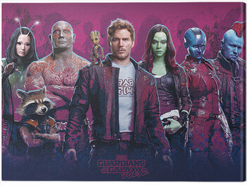 Stampa su Tela Guardians of The Galaxy Vol. 2 - Characters Vol. 2