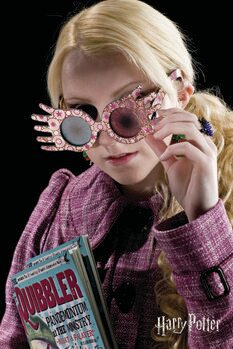 Stampa su Tela Harry Potter - Luna Lovegood