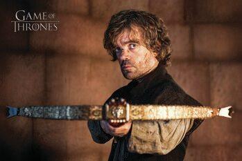 Stampa su Tela Il trono di spade - Tyrion Lannister