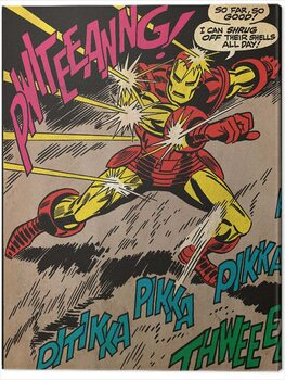 Stampa su Tela Iron Man - So Far So Good