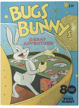 Stampa su Tela Looney Tunes - Bugs Bunny Great Adventure
