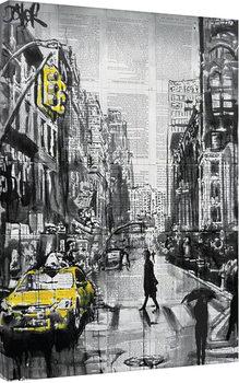 Stampa su Tela Loui Jover - Brooklyn Cab