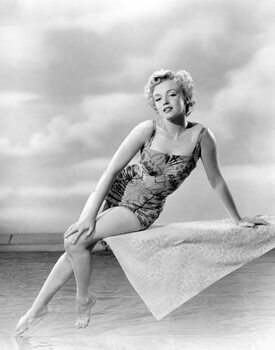 Stampa su Tela Marilyn Monroe 1952 L.A. California