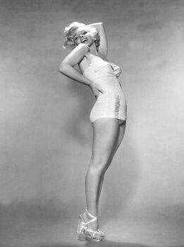 Stampa su Tela MARILYN MONROE, 1953 L.A. California USA