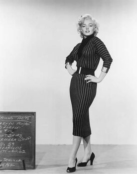 Stampa su Tela Marilyn Monroe