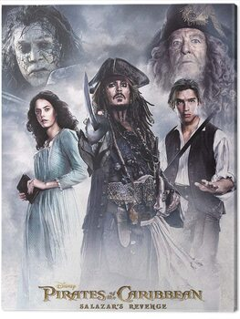 Stampa su Tela Pirates of the Caribbean - Salazar's Revenge