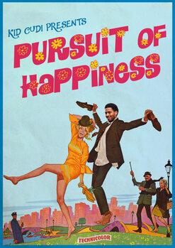 Stampa su Tela pursuit of happiness