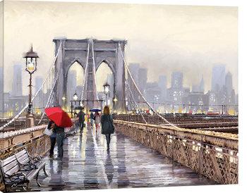 Stampa su Tela Richard Macneil - Brooklyn Bridge