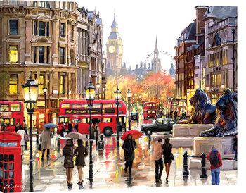Stampa su Tela Richard Macneil - London Landscape