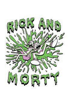 Stampa su Tela Rick and Morty - The Duo