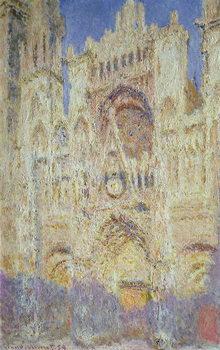 Stampa su Tela Rouen Cathedral at Sunset, 1894
