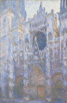 Stampa su Tela Rouen Cathedral, West facade, 1894