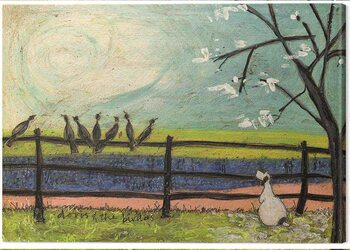 Stampa su Tela Sam Toft - Sam Toft - Doris and the Birdies