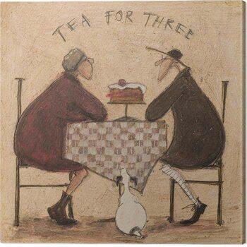Stampa su Tela Sam Toft - Tea For Three