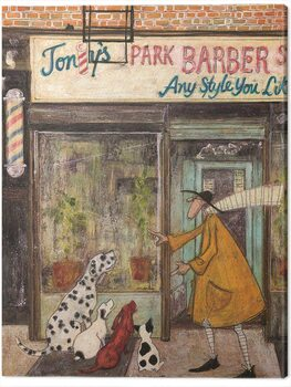 Stampa su Tela Sam Toft - The Barber Shop Quartet